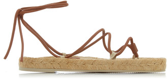 Hereu Atada Leather Espadrille Sandals