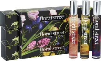 Floral Street Eau De Parfum Christmas Cracker Gift Set (3 X 10Ml)
