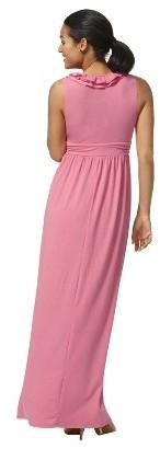 Merona Women's V-Neck Ruffle Maxi Dress - Assorted Colors