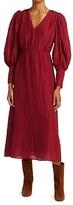 Thumbnail for your product : Sea Tessa Long-Sleeve Midi Dress