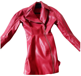 House Of CB Red Leather Dresses