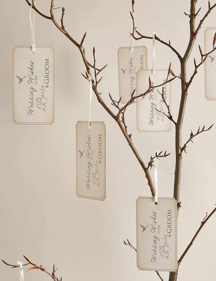Marks and Spencer Wedding Wish Tree & Tags