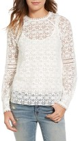 Hinge Women's Lace Top
