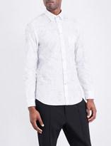 Diesel S-Guru stitched cotton shirt