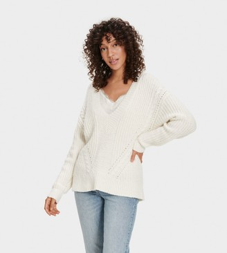 UGG Alva Deep V-Neck Sweater