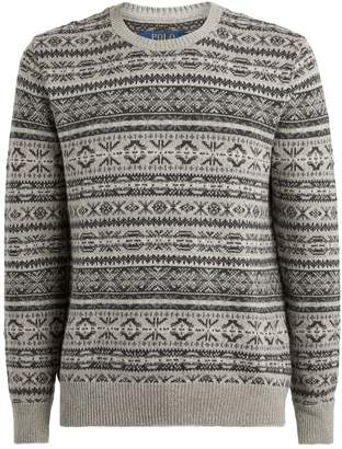 Polo Ralph Lauren Fair Isle Merino Wool Sweater