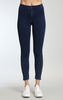 Mavi Jeans Joie High Rise Sporty In Dark Indigo Move
