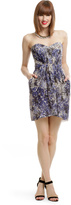 Shoshanna Blue Leopard Dress