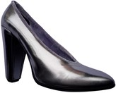 Marc Jacobs Silver Leather Heels