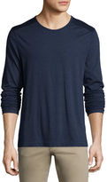 Vince Cotton-Blend Long-Sleeve T-Shirt
