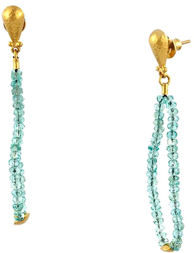 30879143f96f4 Delicate Hue 24K 12.15 Ct. Tw. Apatite Earrings