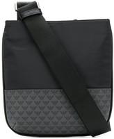 Emporio Armani logo print messenger bag