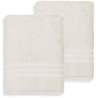 Linum TOWELS Denzi Bath Sheet - Set of 2 - Cream