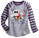 Disney Tim Burton's The Nightmare Before Christmas Raglan Top for Girls