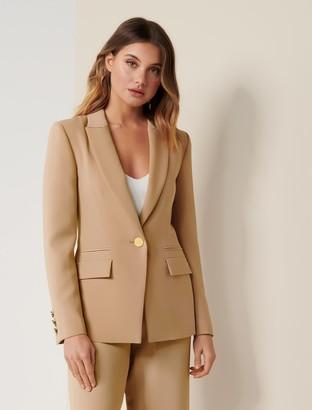 Forever New Elle Suit Blazer - Camel - 10