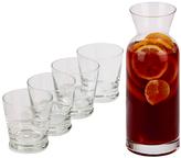 Sheridan Five-Piece Carafe & Glass Set