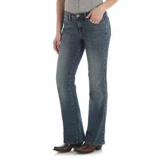 Wrangler Women's Aura from The Women at Sits Below The Waist Jean