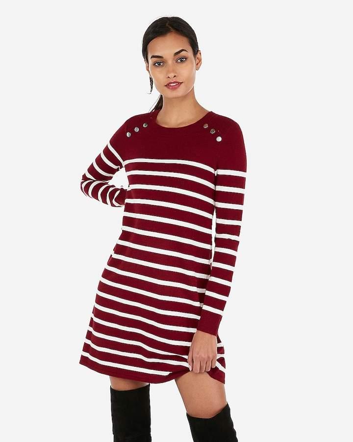 5b5a4b353f5 Express Sweater Dress - ShopStyle