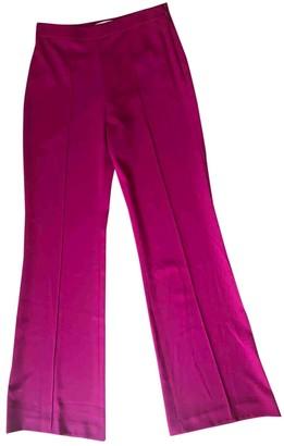 Alice + Olivia Alice & Olivia Purple Trousers for Women