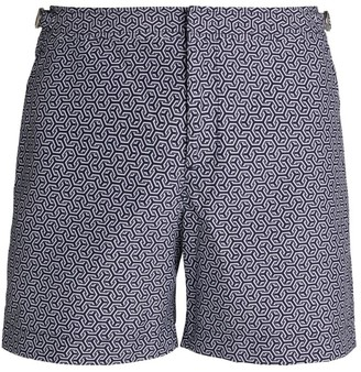 Orlebar Brown Geometric Swim Shorts