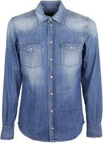 Dolce & Gabbana Bleached Denim Jacket
