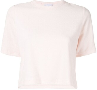 Venroy cropped T-shirt