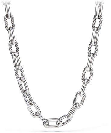 "David Yurman Madison Chain 13.5mm Large Link Necklace, 20"""