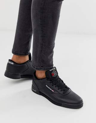 Reebok ex-o-fit lo trainers in black