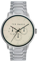 Ted Baker Mens Silver Tone Multifunction Watch 10023494