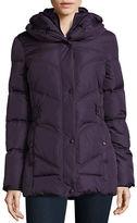 Larry Levine Zip-Front Puffer Jacket