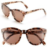 Lilly Pulitzer 'Hartley' 52mm Polarized Sunglasses
