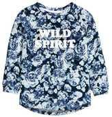 H&M Sweatshirt with Printed Design