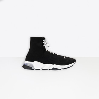 Balenciaga Speed Clear Sole Lace-Up Sneaker