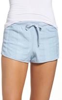Topshop Women's Towel Stripe Shorts