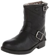 Frye Valerie 6 Shearling Lined Engineer Boot (Little Kid/Big Kid)