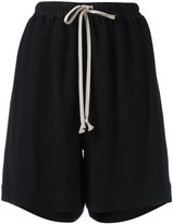 Rick Owens relaxed-fit shorts - women - Viscose - 40