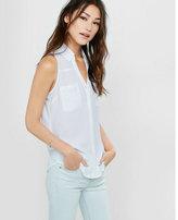 Express original fit sleeveless portofino shirt