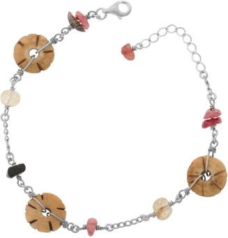 Orphelia Jewelry ZH - 4296 Women's Bracelet 925 Sterling Silver with Natural Elements ZA - 1740