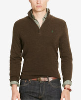 Polo Ralph Lauren Men's Half-Zip Merino Sweater