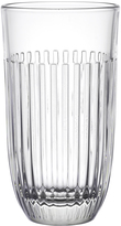 """La Rochere Embossed Vertical Lines Iced Tea Glasses """"Ouessant"""" (Set Of 6)"""