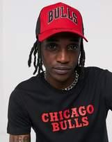 New Era Chicago Red Bulls snapback trucker cap in red