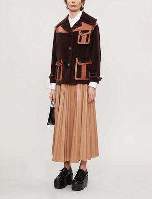 Vestiaire Collective Prada caban cotton-corduroy jacket