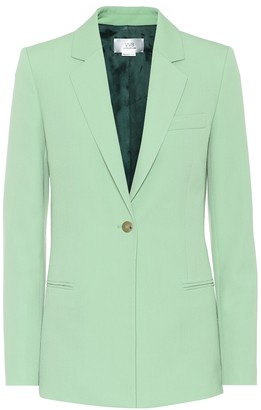 Victoria Victoria Beckham Wool-blend single-breasted blazer