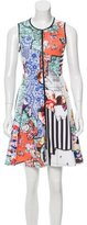 Clover Canyon Graphic Printed Mini Dress