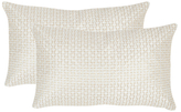 Textures & Weaves Rectangular Pillows (Set of 2)