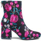 Callie Embroidered Boots Wide E Fit