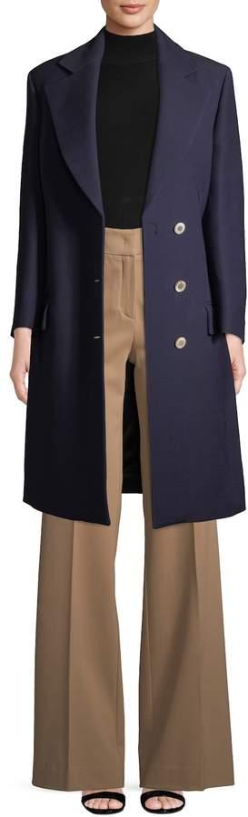 Derek Lam Women's Belted Knee-Length Coat