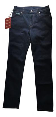 ALEXACHUNG Alexa Chung Blue Cotton - elasthane Jeans