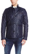 G Star Men's Admiral Quilted Blazer In Myrow Nylon Sara Blue