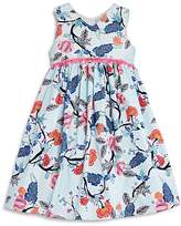 Pippa & Julie Girls' Floral Empire-Waist Dress - Little Kid